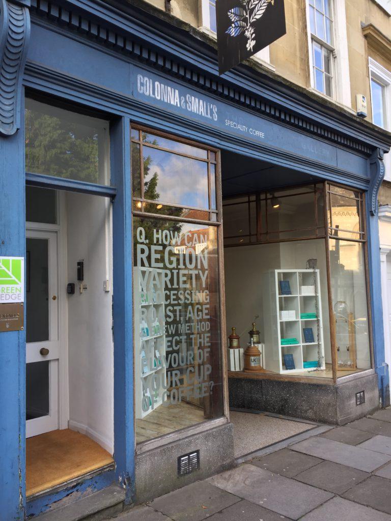 Storefront Colonna & Smalls